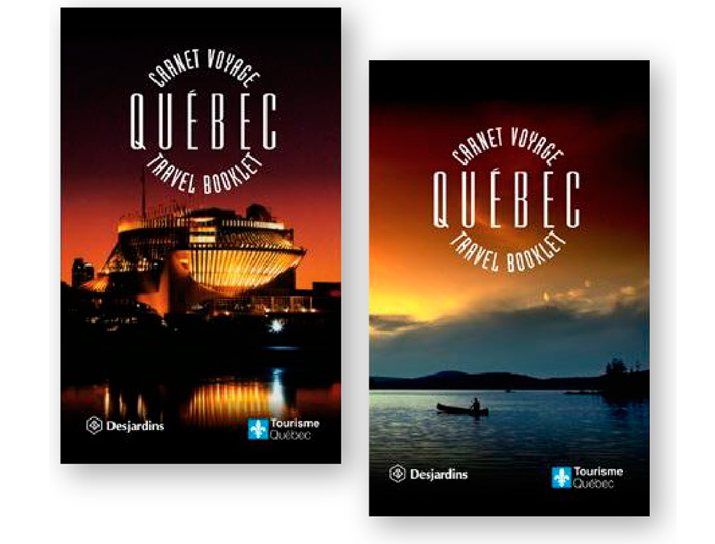 quebec travel booklet visionnaires